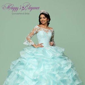 efd39427946 ... Quinceañera Dress Q by Davinci Wedding Dress Ball ...